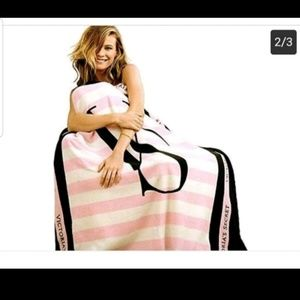 Victoria's Secret Plush Blanket